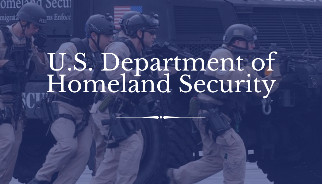 Slide 2 – Homeland Security
