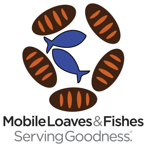 Mobile Loaves&Fishes Serving Goodness